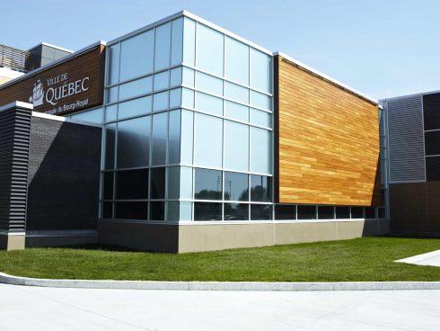 Centre sportif Saint-Jean-Eudes conçu par RLD Architectes