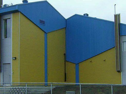 Centrale d'eau potable conçue par RLD Architectes
