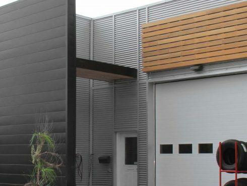 Garage Steve Noonan conçu par RLD Architectes