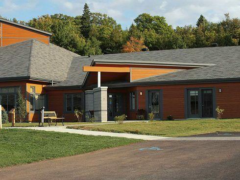 Les maisons d'hébergement Saint-Eugène conçu par RLD Architectes