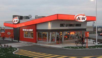 A&W Donnacona conçu par RLD Architectes