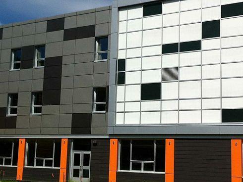 École secondaire du plateau conçue par RLD Architectes