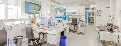 Laboratoires Hôtel-Dieu de Lévis conçu par RLD Architectes